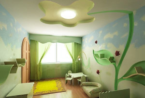 потолок для детской