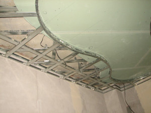 каркас для потолка с подсветкой