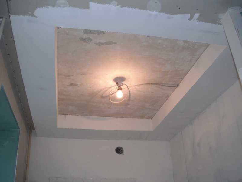 Гипсокартонные потолки своими руками шпаклевка