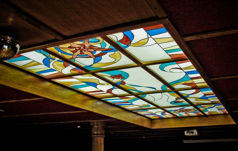 витражные потолки. фото