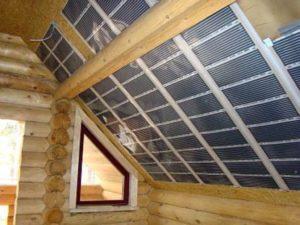 Инфракрасная пленка на потолок