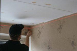 потолок после стен